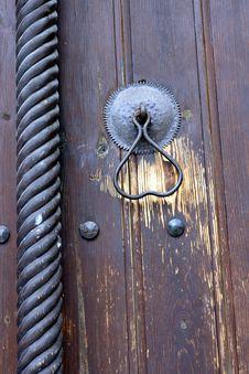 Church Door Detail Stock Image