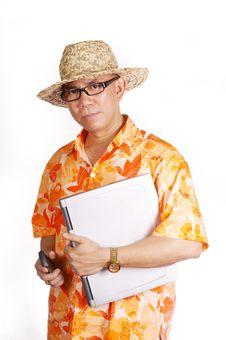 Free Man With Laptop Royalty Free Stock Photos - 6674218