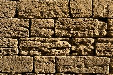 Free Brick Wall Background Royalty Free Stock Photography - 6674437