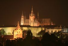 Free Castle In Prague Royalty Free Stock Images - 6674649