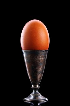 Free Easter Egg Isolated On Black Stock Photos - 6674803
