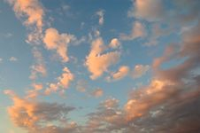 Free Abstract Sunset Cloudscape Stock Photos - 6674833