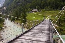 Free Bridge Toward A House Stock Image - 6674891