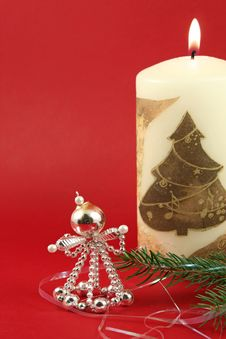 Free Retro Christmas Decoration Stock Photos - 6675983