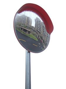 Free Traffic Mirror Royalty Free Stock Images - 6676029