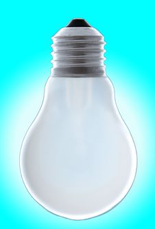 Free Burning Light Bulb Stock Image - 6676091