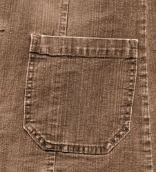 Free Jean Pocket To Background Royalty Free Stock Photo - 6678735