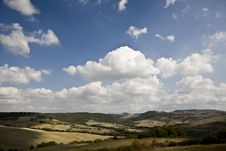 Free Tuscan Landscape Royalty Free Stock Image - 6679086