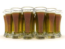Free Beer In Glass Royalty Free Stock Photography - 6679237