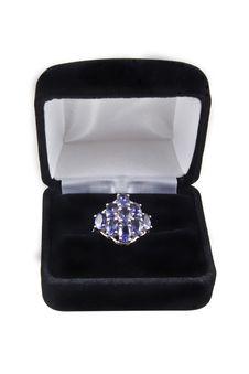 Free Iolite Ring Royalty Free Stock Photos - 6679518
