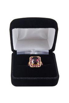 Free Raspberry Garnet Ring Royalty Free Stock Photo - 6679525
