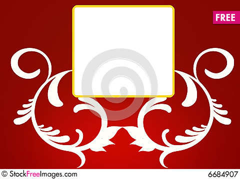 Free Floral Frames Royalty Free Stock Photography - 6684907