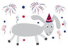 Free Happy Donkey Royalty Free Stock Photography - 6680147