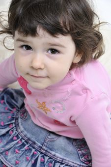 Free Little Girl Royalty Free Stock Photography - 6680657
