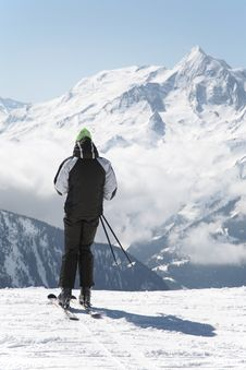 Free Skier Stock Image - 6680811