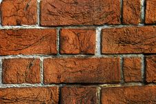 Free Brick Wall Background Stock Photos - 6680943