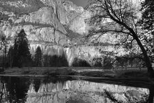 Free Yosemite Reflections Royalty Free Stock Photos - 6681608