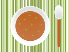 Free Plate Of Soup Royalty Free Stock Images - 6681639