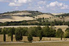 Free Tuscan Landscape Stock Image - 6681901