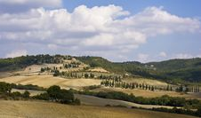 Free Tuscan Landscape Royalty Free Stock Photos - 6681988
