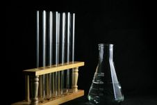 Free Test Tube With Flask Stock Photography - 6682752