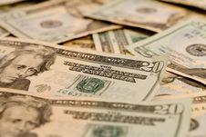 Free 20 Dollar Bills Stock Photo - 6683360