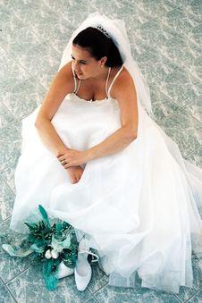 Free Bride Gazing Royalty Free Stock Photos - 6684098