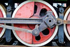 Free Train Wheel Royalty Free Stock Images - 6684329