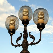 Free Ornate Street Lamps Stock Photo - 6684760