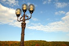 Free Ornate Street Lamps Royalty Free Stock Photos - 6684768