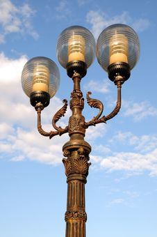 Free Ornate Street Lamps Stock Image - 6684771