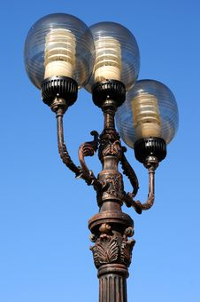 Free Ornate Street Lamps Stock Image - 6685051