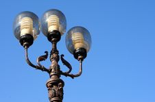 Free Ornate Street Lamps Royalty Free Stock Photo - 6685055