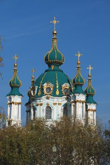 Free Andreevskaya Church Stock Photo - 6685110