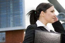 Free Businesswoman Outdoor Stock Image - 6685261