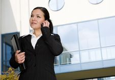 Free Businesswoman Outdoor Royalty Free Stock Photos - 6685278