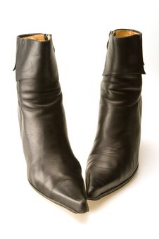 Free Black Boots Stock Photography - 6685322