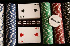Free Poker Time... Stock Photo - 6685360