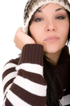 Free Winter Woman Stock Image - 6685401