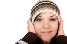 Free Winter Woman Royalty Free Stock Photos - 6685408