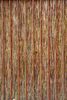 Free Cane Fence Natural Background Stock Photos - 6685443