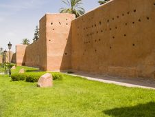 Free Wall In Marrakesh Stock Photography - 6685782