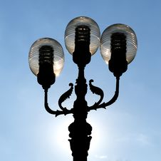 Free Ornate Street Lamps Royalty Free Stock Photo - 6685855
