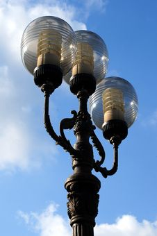 Free Ornate Street Lamps Stock Photography - 6685872