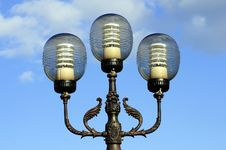 Free Ornate Street Lamps Stock Photography - 6685962