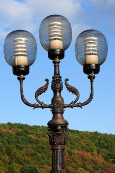 Free Ornate Street Lamps Royalty Free Stock Images - 6685969