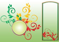 Free Floral Frame Stock Photography - 6686192
