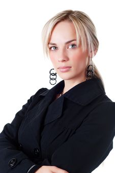 Free Young Woman In Business Suit Royalty Free Stock Photos - 6686258