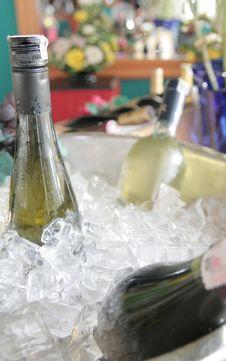 Wines Market Royalty Free Stock Photography