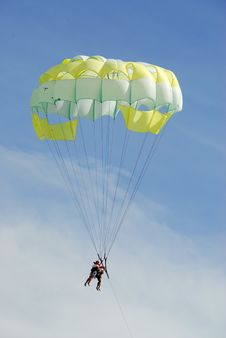 Free Parachute Flight Stock Photos - 6686883